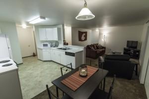 Kitchen/Dinning Room/Living Room